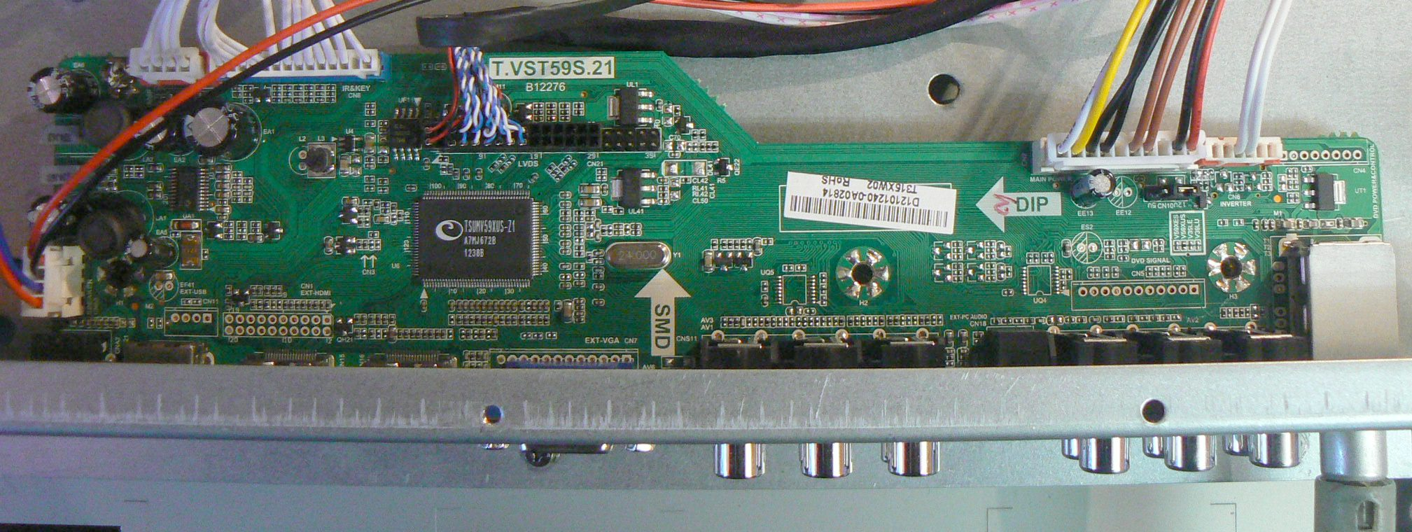 Прошивка SATURN LCD32T Main Board-T.VST59S.21